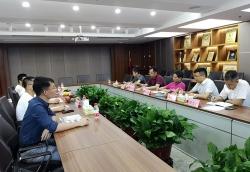 湘潭市勘测设计院来我集团考察交流