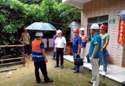 集团领导赴广州检查在建项目安全生产工作