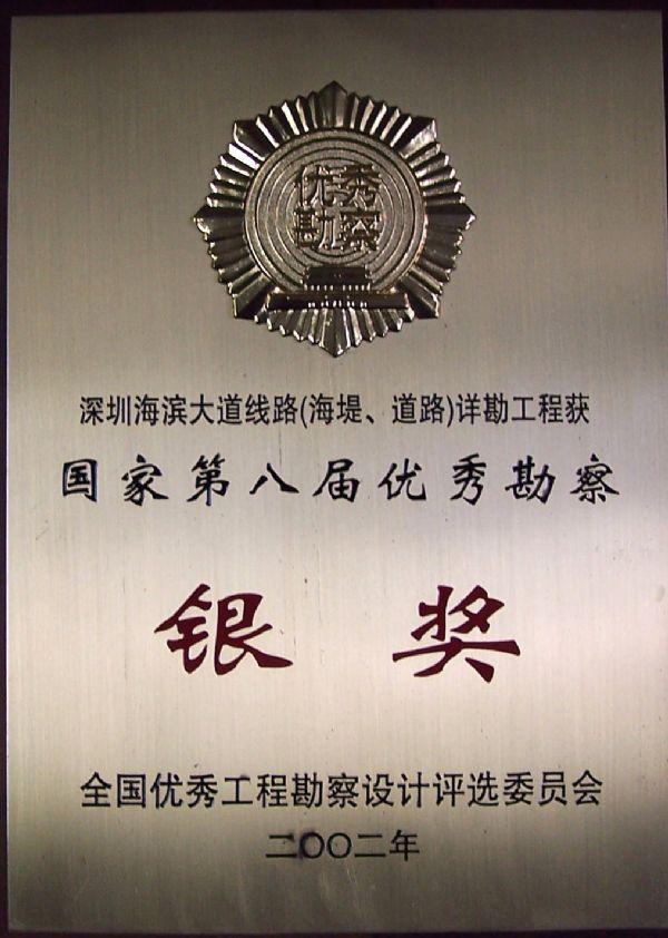 深圳市滨海大道线路海堤道路详勘